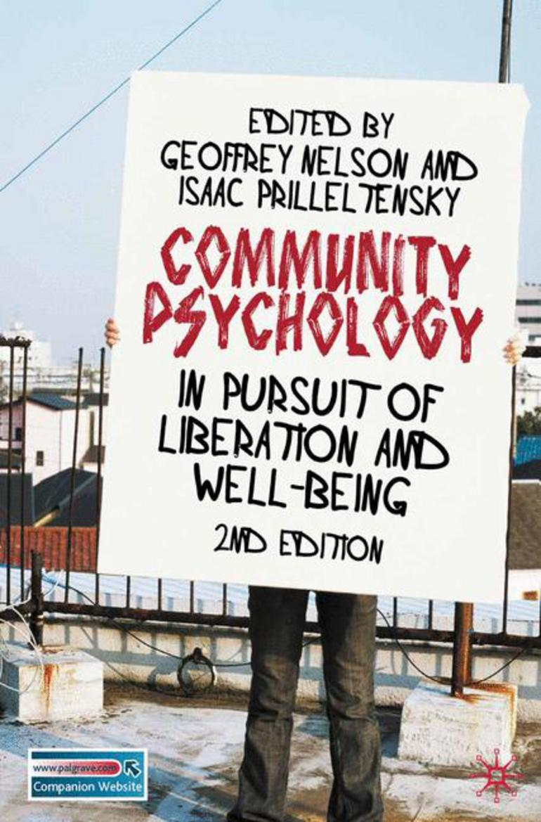 Community Psychology - Geoffrey Nelson|Isaac Prilleltensky