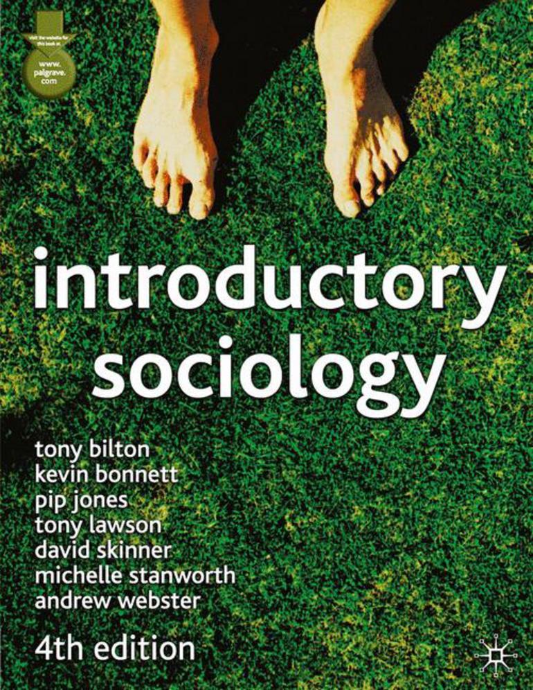 Introductory Sociology - Tony Bilton Kevin Bonnett Pip Jones