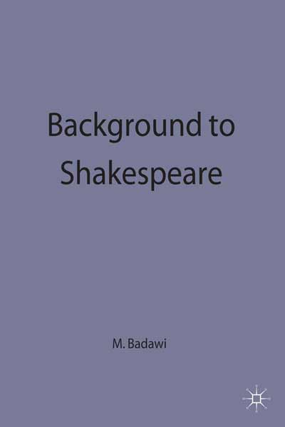 Background to Shakespeare
