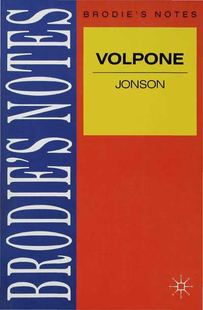 Jonson: Volpone