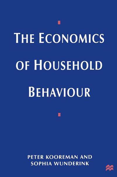 A course in behavioral economics erik angner macmillan the economics of household behavior peter kooreman fandeluxe Choice Image
