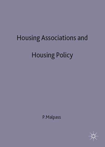 Housing Associations and Housing Policy