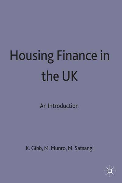 Housing Finance in the UK