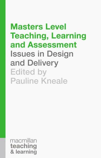 Book cover for Masters Level Teaching, Learning and Assessment