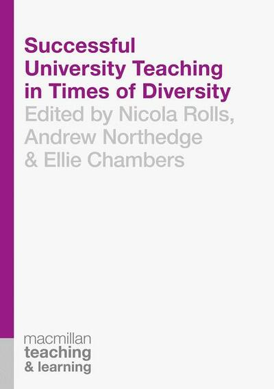 Book cover for Successful University Teaching in Times of Diversity