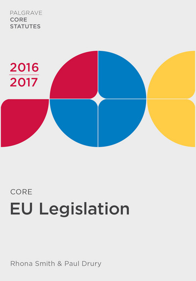 Core EU Legislation 2016-17
