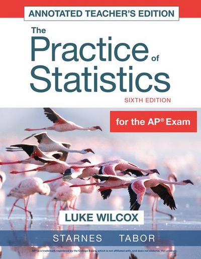 Teacher's Edition for The Practice of Statistics