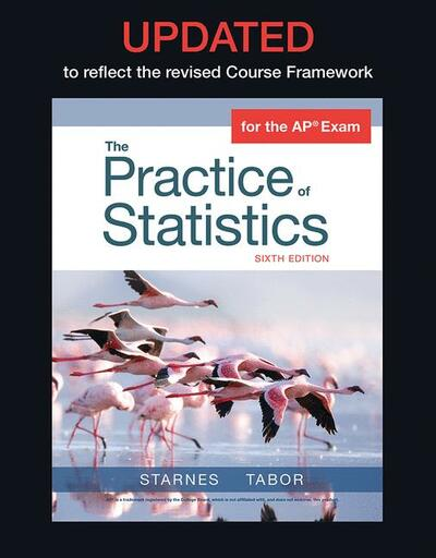 Updated Version of The Practice of Statistics for the APA Course (Student Edition)