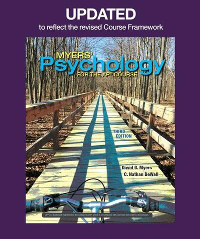 Updated Myers' Psychology for AP