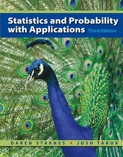 Statistics and Probability with Applications (High School Edition)