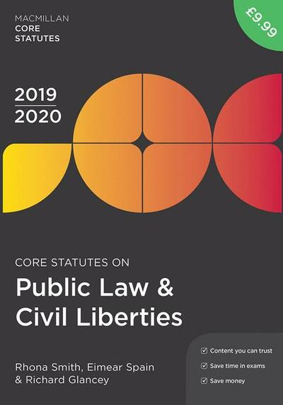 Core Statutes on Public Law & Civil Liberties 2019-20