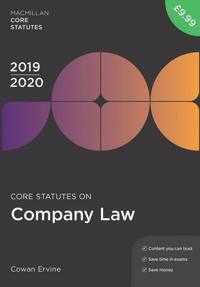 Core Statutes on Company Law 2019-20