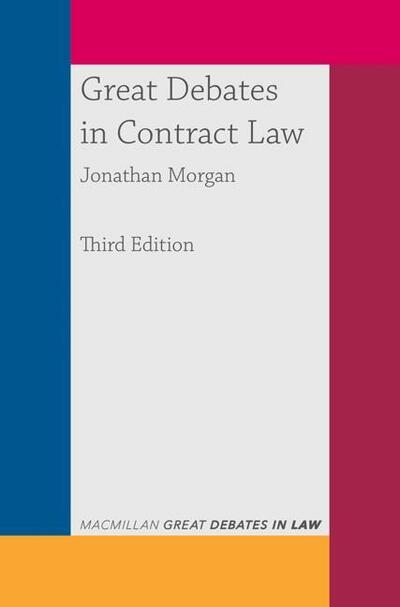 Great Debates in Contract Law
