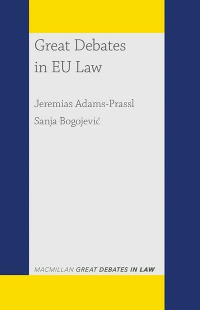 Great Debates in EU Law