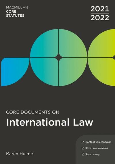 Core Documents on International Law 2021-22