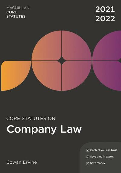 Core Statutes on Company Law 2021-22