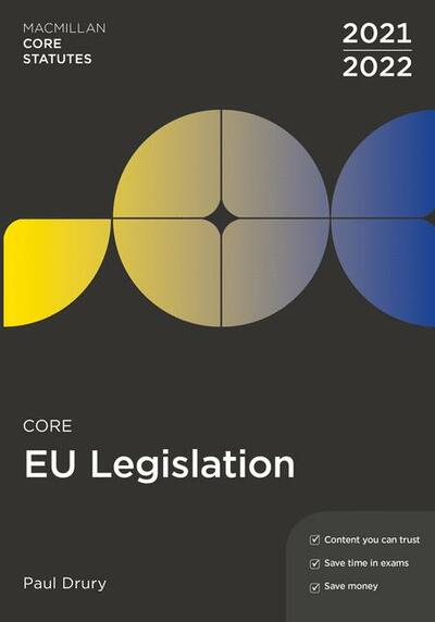 Core EU Legislation 2021-22