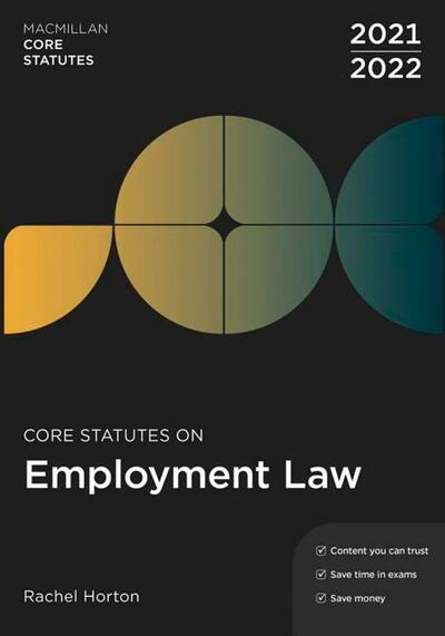 Core Statutes on Employment Law 2021-22