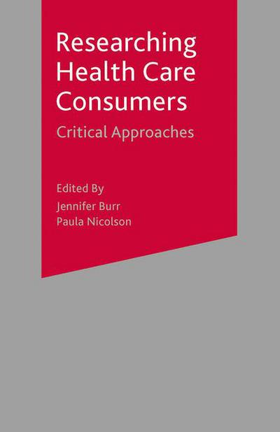 Researching Health Care 'Consumers'