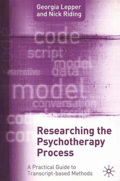 Researching the Psychotherapy Process