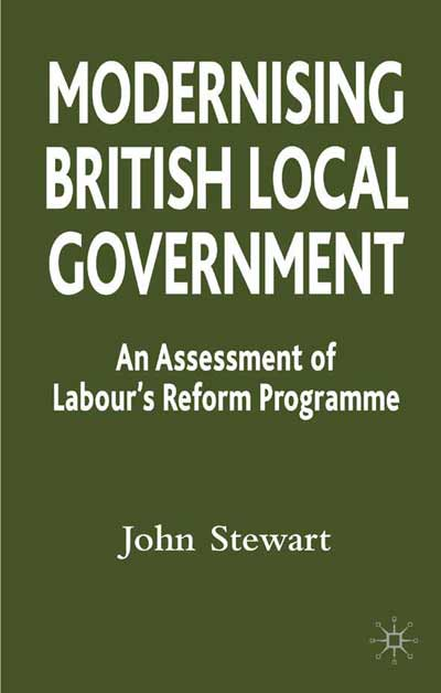 Modernising British Local Government