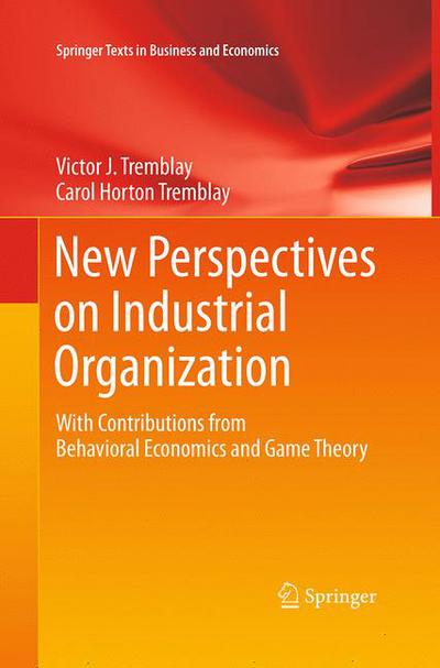 New Perspectives on Industrial Organization