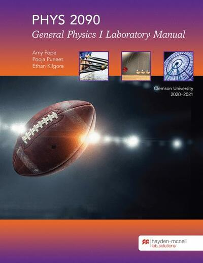 PHYS 2090 General Physics I Laboratory Manual
