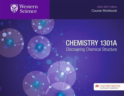 Chemistry 1301A Course Workbook