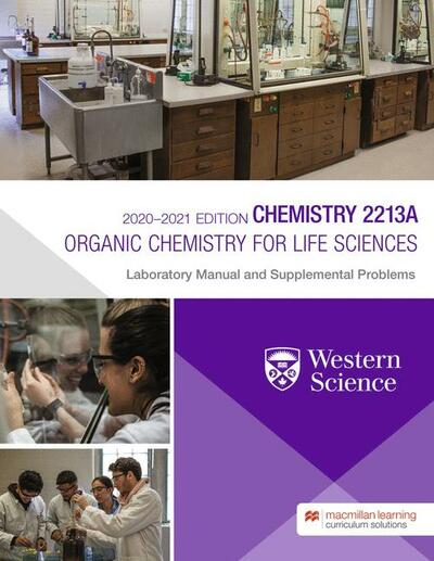 Chemistry 2213A Laboratory Manual and Supplemental Problems