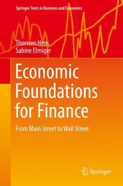 Economic Foundations for Finance