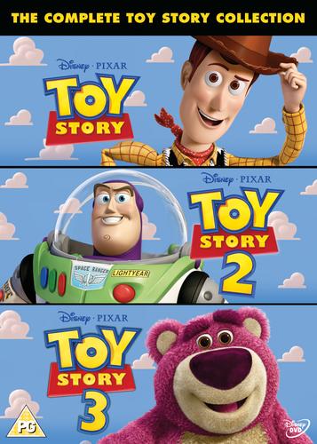 Toy Story 1-3 DVD (2010) John Lasseter