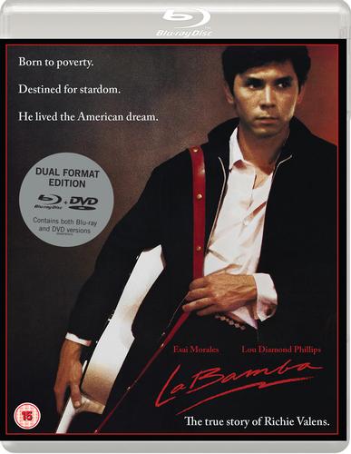 Details about La Bamba DVD (2017) Lou Diamond Phillips, Valdez (DIR) cert 15 2 discs