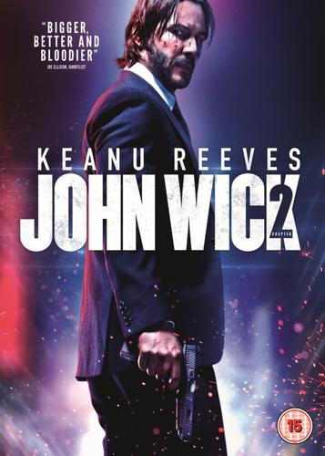 John Wick: Chapter 2 DVD (2017) Keanu Reeves, Stahelski (DIR) cert 15 ***NEW***