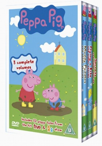 Peppa Pig: Muddy Puddles/Flying a Kite/New Shoes DVD (2005) Phil Davies