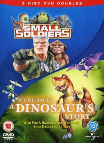 Small Soldiers/We're Back! A Dinosaur's Story DVD Kirsten Dunst