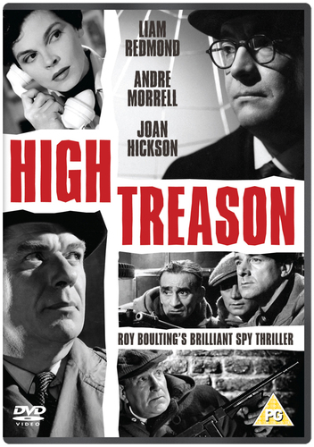 High Treason DVD (2013) Liam Redmond ***NEW***