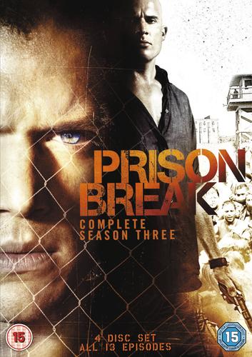 Prison Break: Complete Season Three DVD (2008) Wentworth Miller ***NEW***