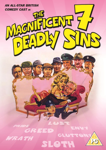 The Magnificent Seven Deadly Sins DVD 2015 Bruce Forsyth - England, United Kingdom - The Magnificent Seven Deadly Sins DVD 2015 Bruce Forsyth - England, United Kingdom