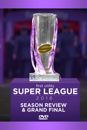 Super League: 2016: Season Review and Grand Final DVD (2016) Wigan RLFC