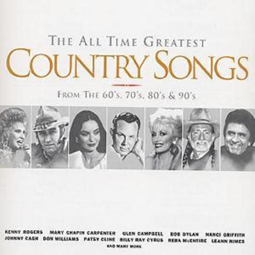Details about Various Artists : The All Time Greatest Country Songs: From  the 60s, 70s, 80s