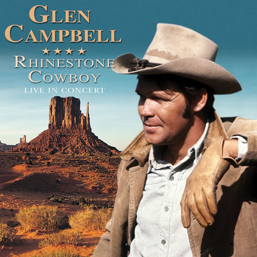 Details about Glen Campbell  Rhinestone Cowboy Live in Concert CD (2004)  Fast and FREE P \u0026 P
