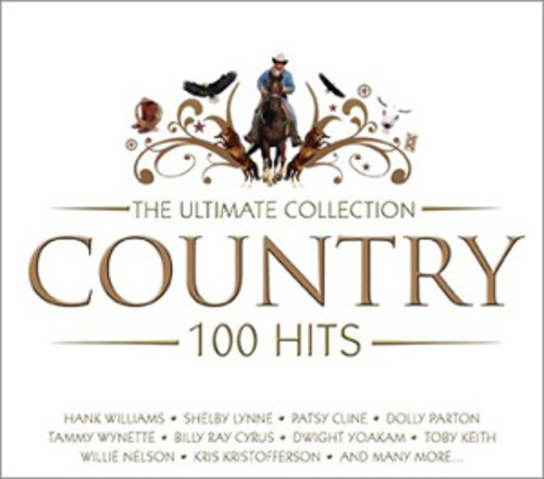 Country The Ultimate Collection: Various Artists : Country: The Ultimate Collection CD Box