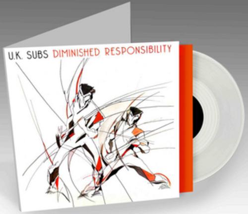 Uk Subs Diminished Responsibility Vinyl 12 Quot Album 2015