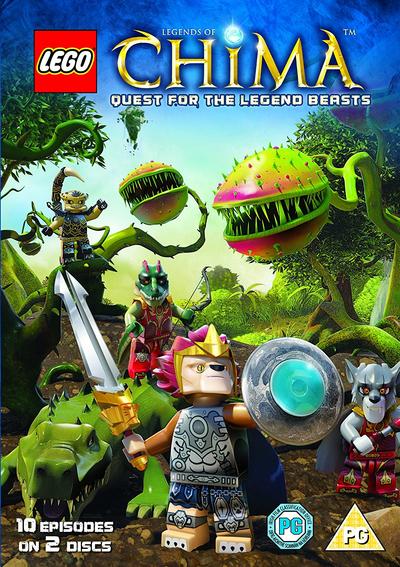 LEGO Legends of Chima: Season 2 - Part 1 DVD (2016) John